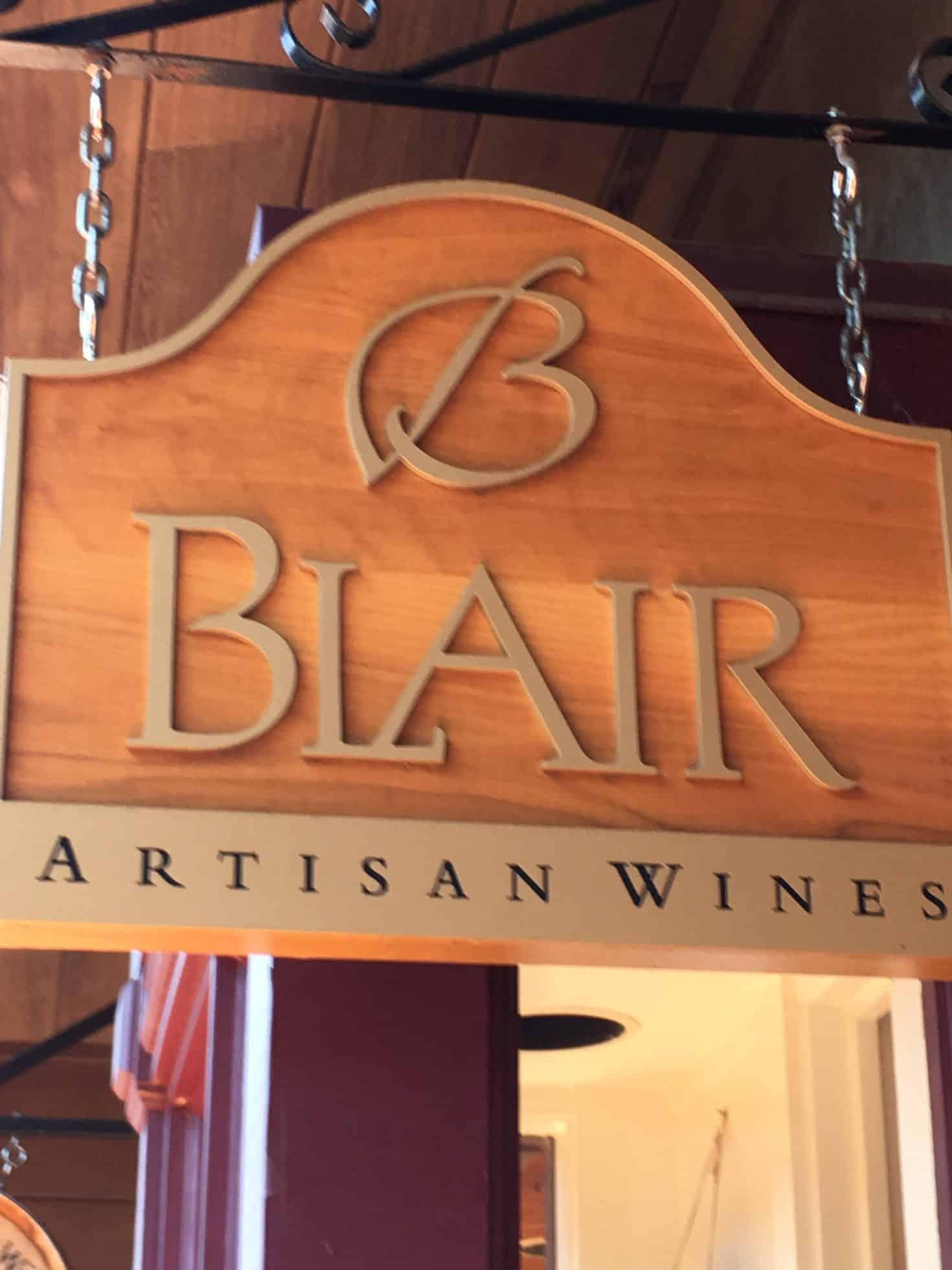 BLAIR ESTATE ARTISAN WINES