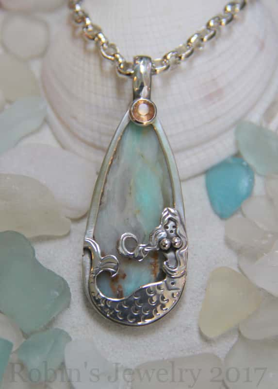 Robin's Jewelry Carmel Mermaid Necklace