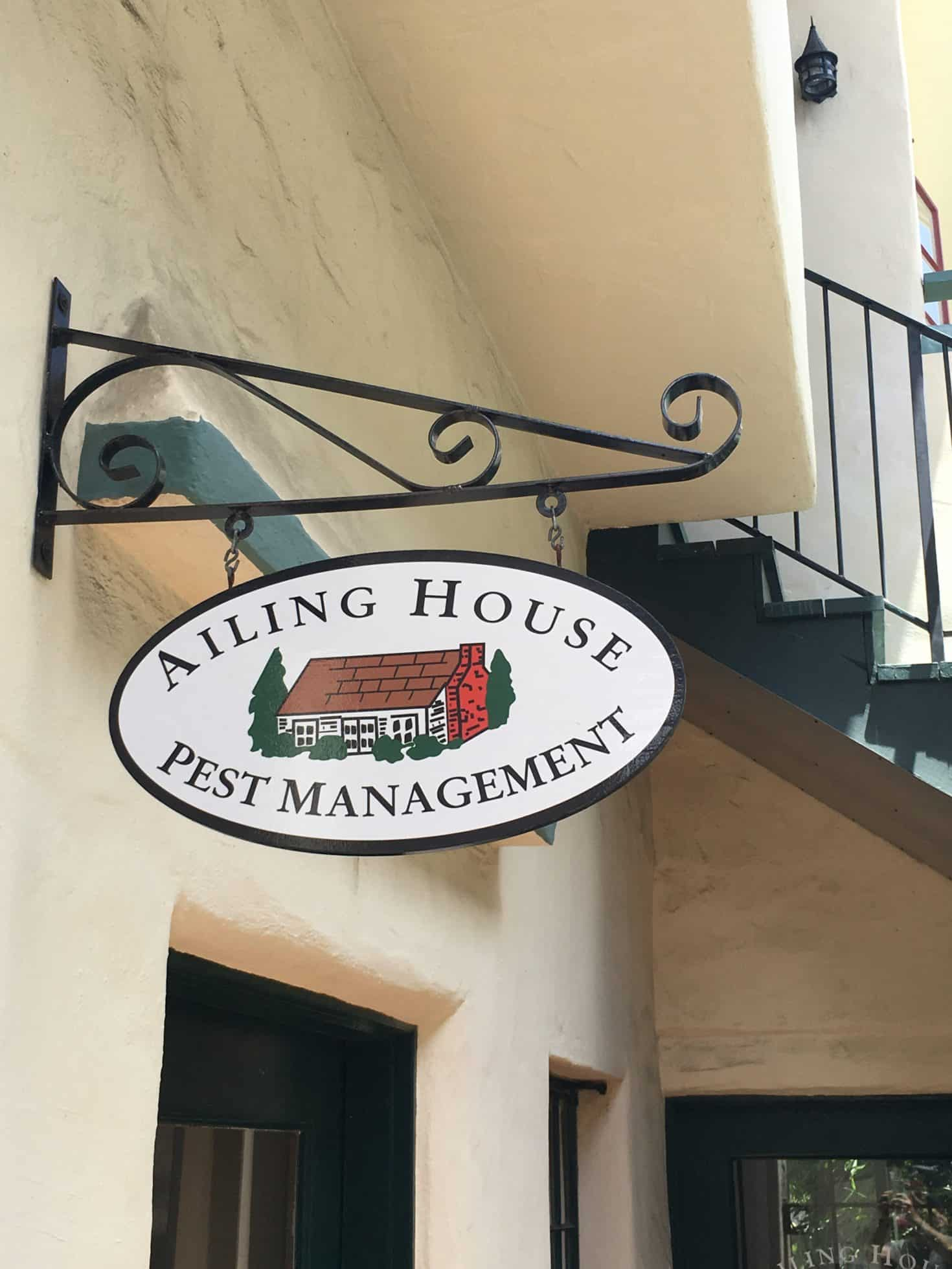 Ailing House Pest Management Carmel