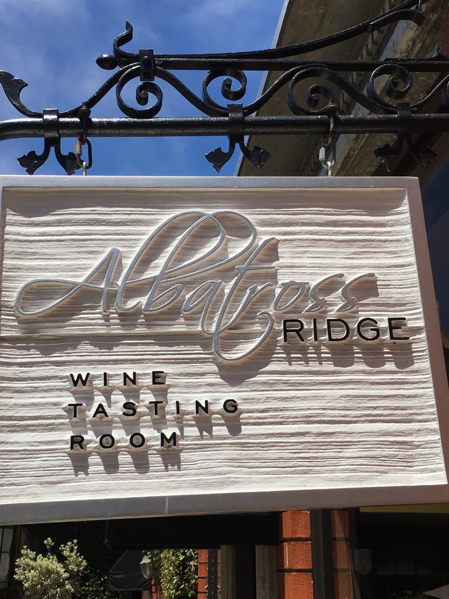 Albatross Ridge Wine Tasting Room Carmel