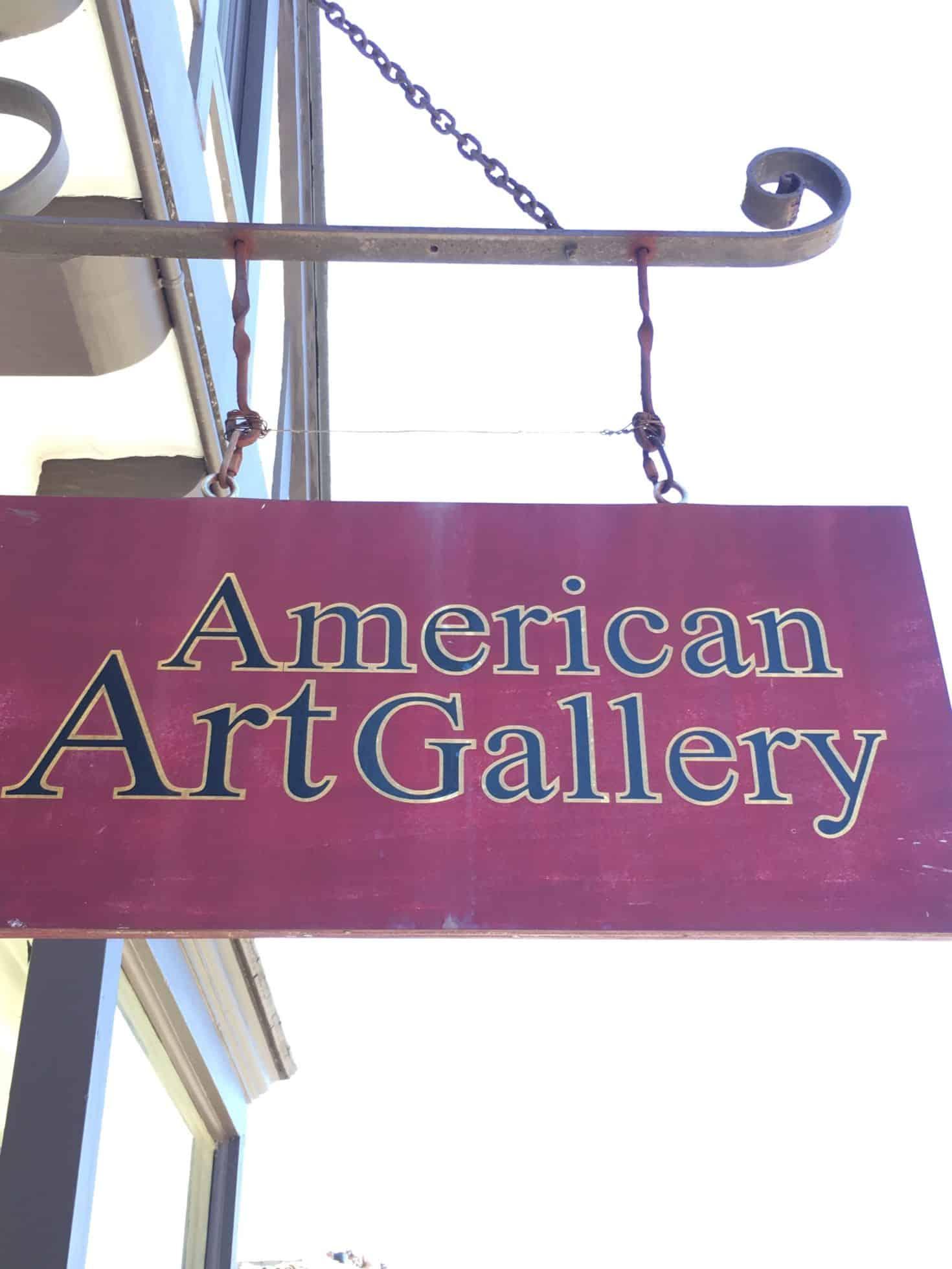 American Art Gallery Carmel