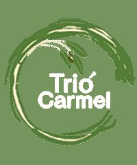 Trio Carmel Logo White