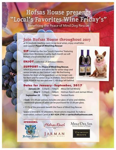 Hofsas House Wine Friday