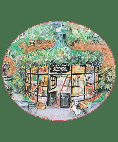 Sketches Of Carmel Lisas Studio