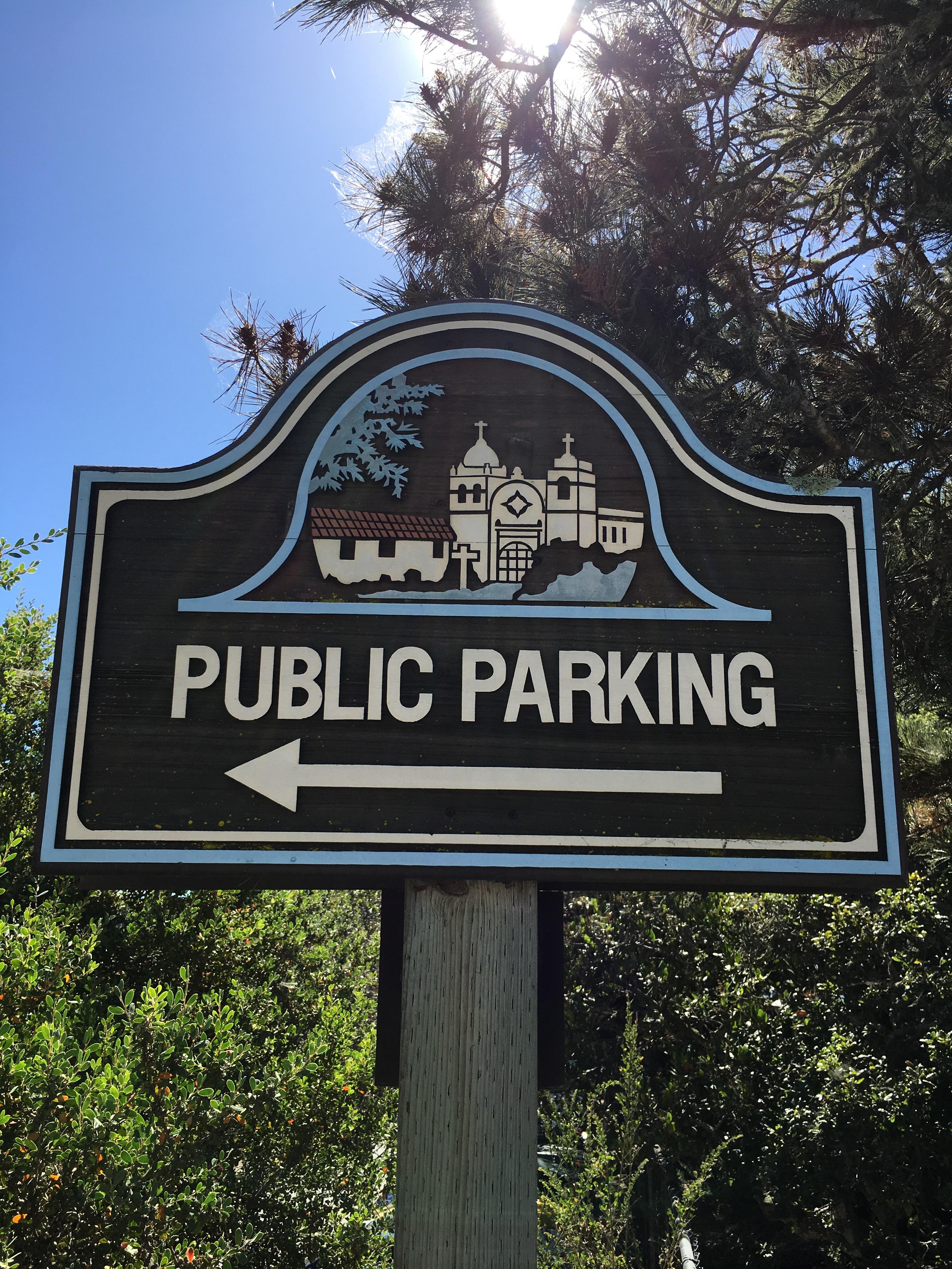 Sunset Center Public Parking