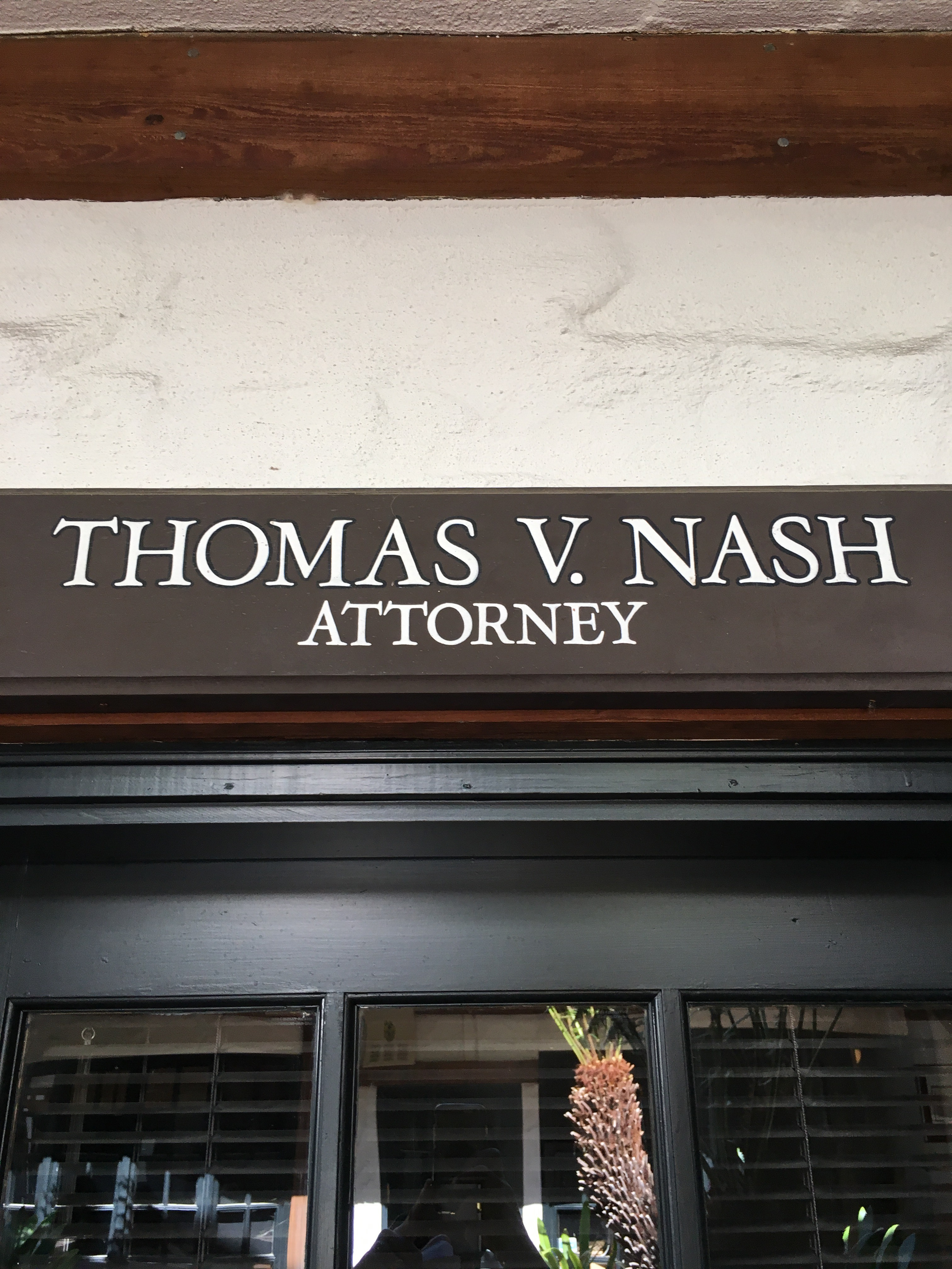 Thomas V Nash Attorney