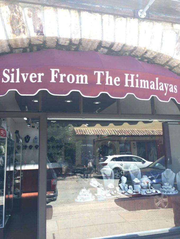 Silver from the Himalayas